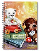 The Truffle From Whitby Spiral Notebook