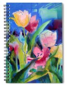 The Tulips Bed Rock Spiral Notebook