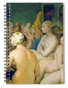 The Turkish Bath, Detail Spiral Notebook