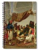 The Turkish Cafe Spiral Notebook