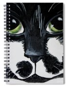 The Tuxedo Cat Spiral Notebook