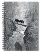 The Two Goats Spiral Notebook