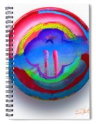 The Two Towers Spiral Notebook