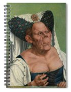The Ugly Duchess, By Quentin Matsys Spiral Notebook