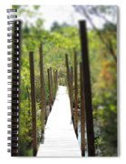 The Uncertain Path Spiral Notebook