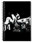 The Under Dogs Philadelphia Eagles Spiral Notebook