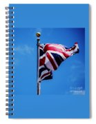 The Flag Of Great Britain Spiral Notebook