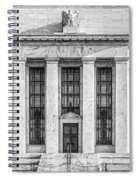 The United States Federal Reserve Bw Spiral Notebook
