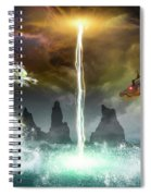 The Universe Of Dragons Spiral Notebook