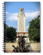 The University Of Texas Tower Spiral Notebook
