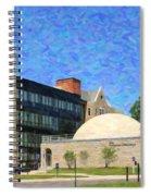 The University Of Toledo Spiral Notebook