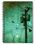 The Urban Crow Spiral Notebook