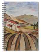 The Valley Of Jesrael Spiral Notebook