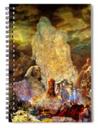 The Valley Of Sphinks Spiral Notebook