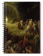 The Valley Of Tears Spiral Notebook