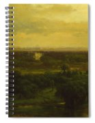 The Valley Of The Olives Spiral Notebook