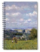 The Valley Of The Seine At Saint Cloud Spiral Notebook