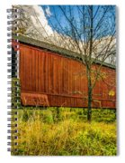 The Van Sant Covered Bridge Spiral Notebook