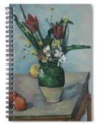 The Vase Of Tulips Spiral Notebook
