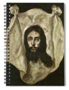 The Veil Of Saint Veronica Spiral Notebook