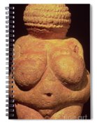 The Venus Of Willendorf Spiral Notebook