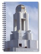 The Versailles Hotel Tower - Miami Beach Spiral Notebook