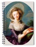 The Vicomtesse De Vaudreuil Spiral Notebook