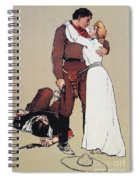 The Victors Prize, 1905 Spiral Notebook