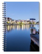 The View At Day's End  Spiral Notebook