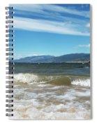 The View From Okanagan Beach Spiral Notebook
