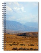 The View From Red Gulch Spiral Notebook