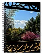 The View From The Window Spiral Notebook