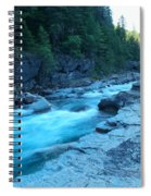 The View Of A River Spiral Notebook