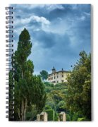 The Views From The Boboli Gardens Spiral Notebook
