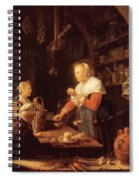 The Village Grocer 1647 Spiral Notebook