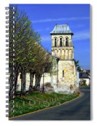 The Village Of Le Thoureil Spiral Notebook