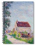 The Village Of Sablons Spiral Notebook