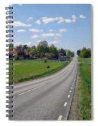 The Village Of Stjarna Spiral Notebook