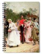 The Village Wedding Spiral Notebook