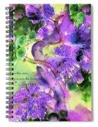 The Vine Spiral Notebook