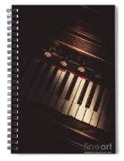 The Vintage Music Hall Spiral Notebook