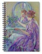 The Violet Kimono 1911 Spiral Notebook
