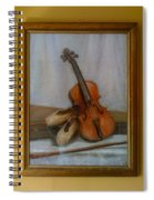 The Violin  Spiral Notebook