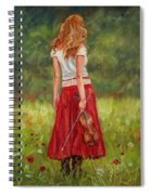 The Violinist Spiral Notebook