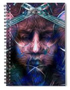 The Violinist Dual Tone   Spiral Notebook
