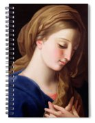 The Virgin Annunciate Spiral Notebook