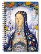The Virgin,  Joseph Stella Spiral Notebook