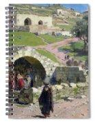 The Virgin Spring In Nazareth Spiral Notebook