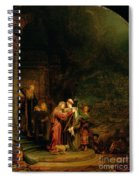 The Visitation Spiral Notebook