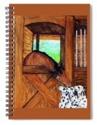 The Visitors Spiral Notebook